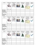 Desk Behavior Charts