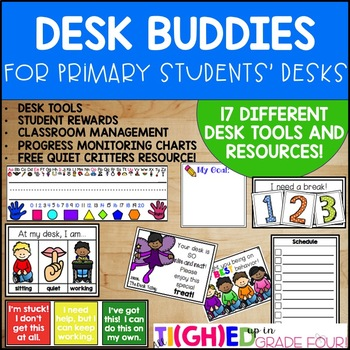 Desk Buddies! {Tools, Resources, and Desk Decor At Your St