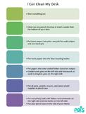 Desk Cleaning - Scaffolding Procedure & Checklist