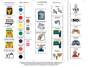 Desk Communication Cards - 2