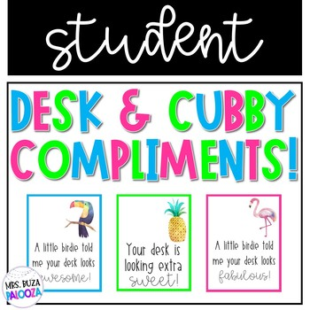 Desk & Cubby Compliments