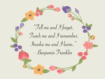Inspirational Quotes - Classroom Decor