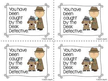 Desk Detective Cards