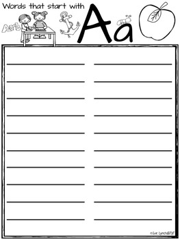 Desk Dictionary~Kids Personal Spelling Dictionary can use with Word Wall