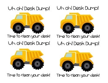Desk Fairy: Desk Dump