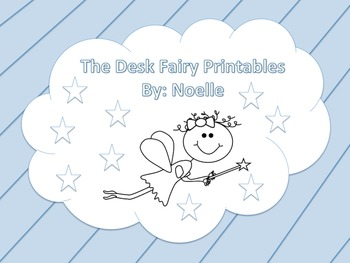 Desk Fairy Printables