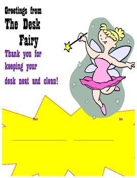 Desk Fairy Award