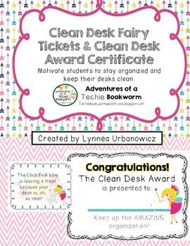 Desk Fairy Award Coupons