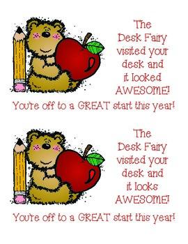 Desk Fairy Awards/Clean Desk Reward