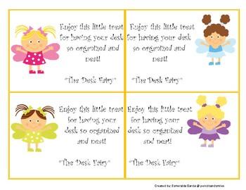 Desk Fairy Notes (Bilingual)