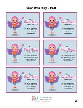 Desk Fairy & Clean Desk Dude Reward Cards