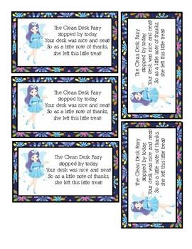 Desk Fairy - Clean Desk Fairy Reward