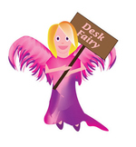 Desk Fairy Clipart