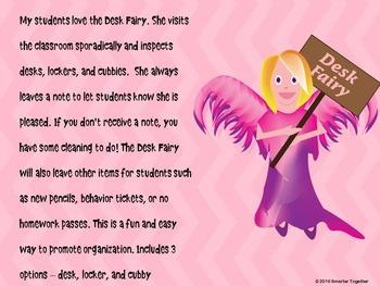Desk Fairy - Freebie