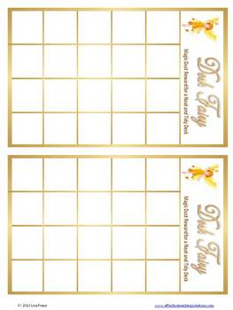 Desk Fairy Incentive Chart, Reward Coupons, Clean Sweep Tokens