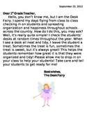 Desk Fairy Introduction Letter