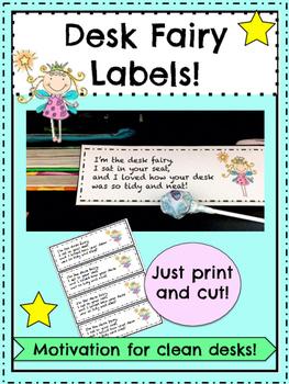 Desk Fairy Labels