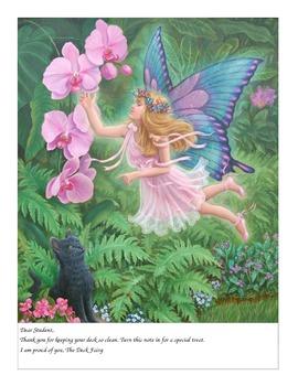 Desk Fairy Letter