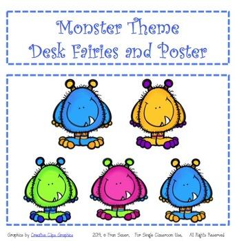 Desk Fairy ~ Monster Theme