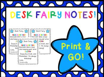 Desk Fairy Note