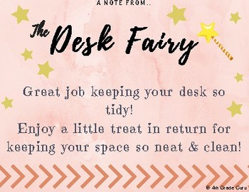 Desk Fairy Notes