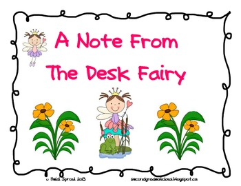 Desk Fairy Notes, Award and Graph