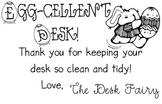 Desk Fairy Notes: Keep Those Desks Clean!
