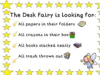 Desk Fairy Notes for Neat and Messy Desks: UPDATED