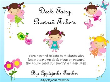 Desk Fairy Passes - Freebie