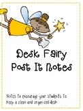 Desk Fairy Post it Notes