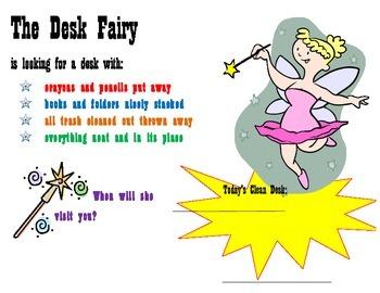 Desk Fairy Poster