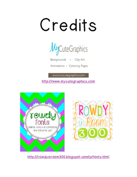 Desk Fairy Reward Cards