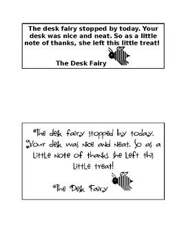 Desk Fairy Reward Coupon