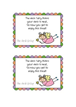 Desk Fairy Reward Coupons {4 types}