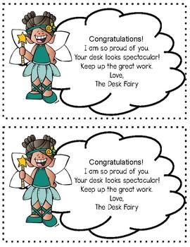 Desk Fairy Reward FREEBIE