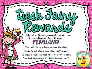 Desk Fairy Rewards (23 Yearlong Certificates)