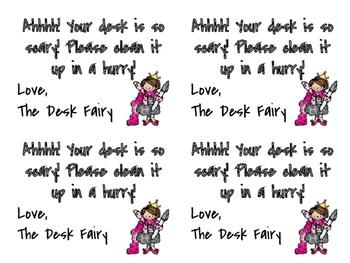 Desk Fairy Slips
