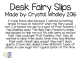 Desk Fairy Slips