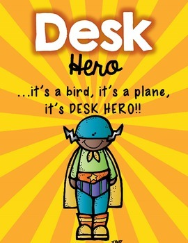 Desk Fairy (Superhero Edition)