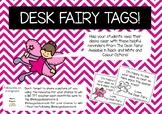 FREE Desk Fairy Tags | Behaviour Management Strategy