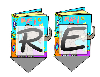 """Reading Area/Wall Banner """"READ"""""""