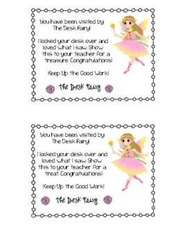 Desk Fairy Tickets