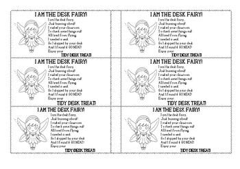 Desk Fairy Tokens