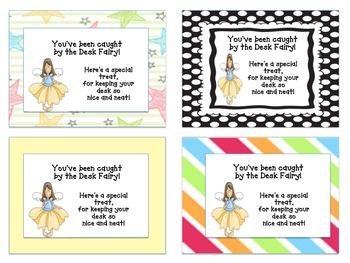 Desk Fairy Treat Tags