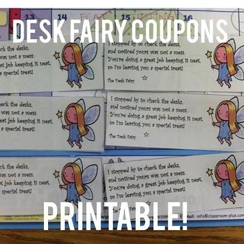 Desk Fairy reward