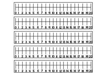 Desk Helpers (Alphabet & Number Line)