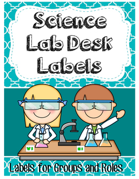 Desk Labels for Collaborative Learning in Science Labs or Group Work