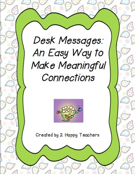 Desk Messages: An Easy Way to Make Meaningful Connections