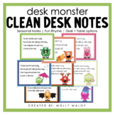 Desk Monster Notes (Seasonal Pack)