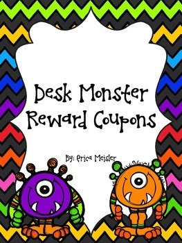 Desk Monster Reward Coupons